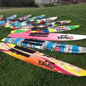 Bravo Paddle Board Colours and Styles